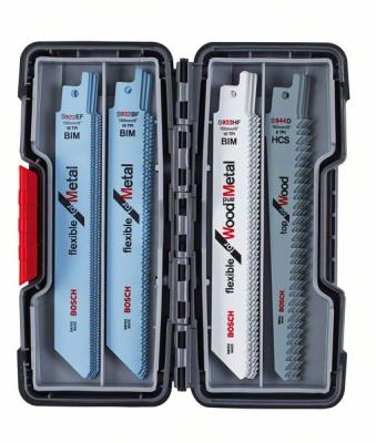 Bosch набор из 20 пильных полотен Wood and Metal купить по низкой цене в Москве, 2607010902